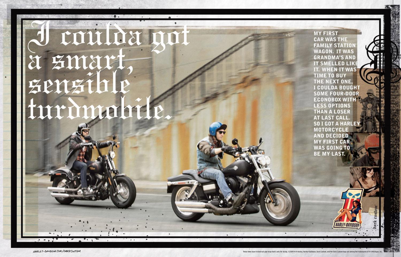 ЯП файлы - Реклама Харлей. (Harley Davidson Respect)
